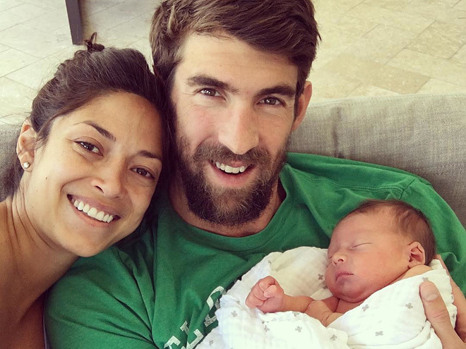 Phelps overjoyed to announce new baby