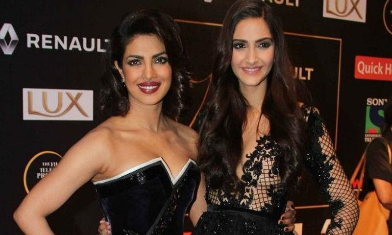 Priyanka Chopra, Sonam Kapoor pose for photoshoot
