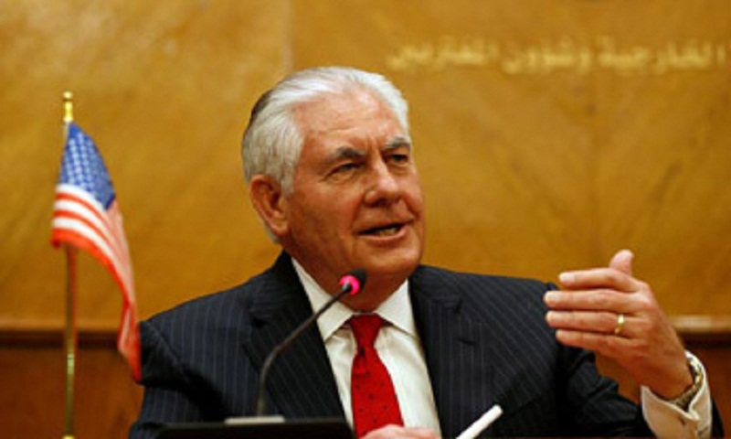 Tillerson heads to Ankara to ease Turkey tensions