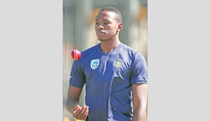 RABADA FINED FOR DHAWAN SEND-OFF