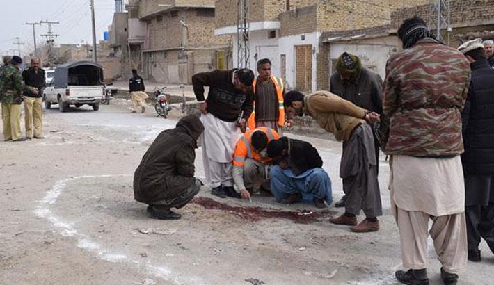 Gunmen kill 4 paramilitary police in Pakistan