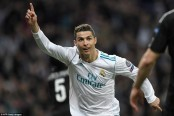Ronaldo scores twice as Real Madrid beat PSG in 3-1