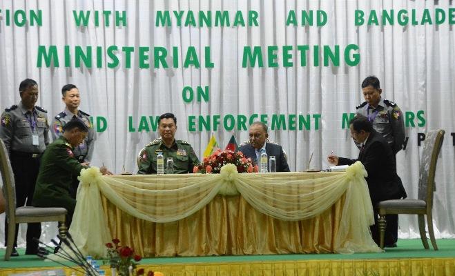 Bangladesh-Myanmar meeting in progress; Rohingya issue high on agenda
