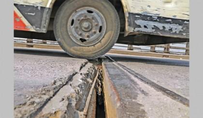 Kanchpur Bridge in bad shape | 2018-02-16