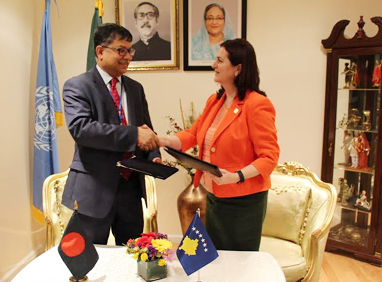 Formal diplomatic ties between Bangladesh-Kosovo established