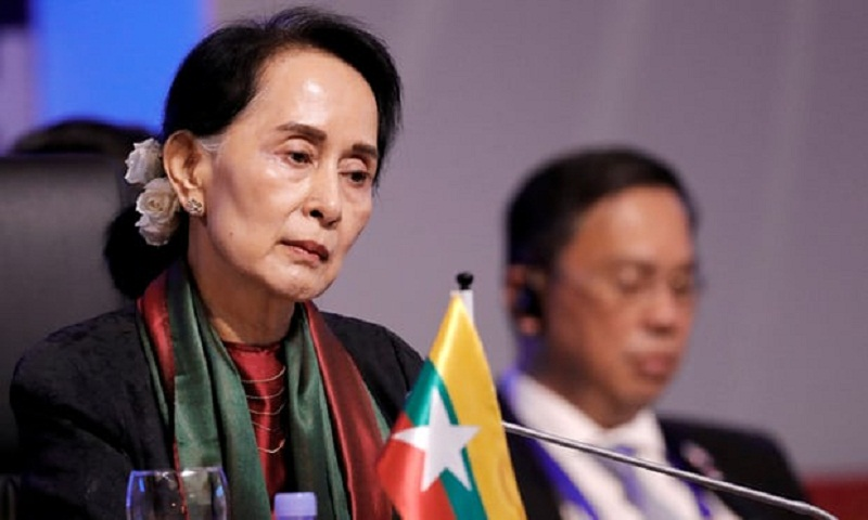 Aung San Suu Kyi complicit in Rohingya 'ethnic cleansing' in Myanmar