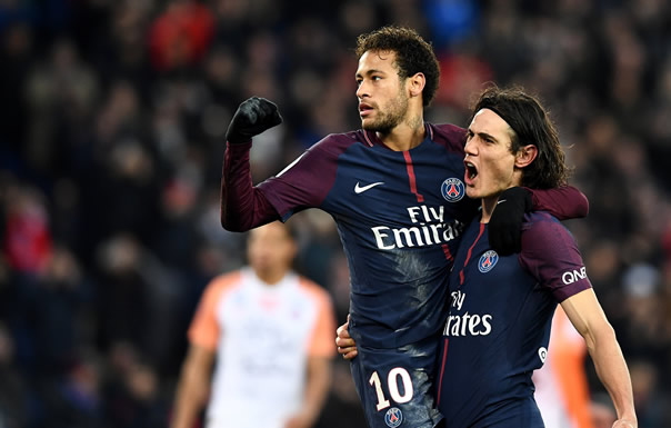 Cavani, Neymar key as PSG rebound from Madrid gloom