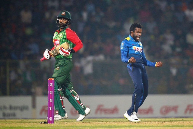 Sri Lanka complete clean sweep of Tigers in T20I series