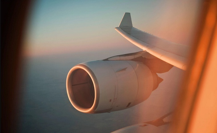 How far can a plane fly if both its engines fail?