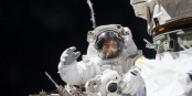 Spacewalking astronauts finish months of robot arm repair