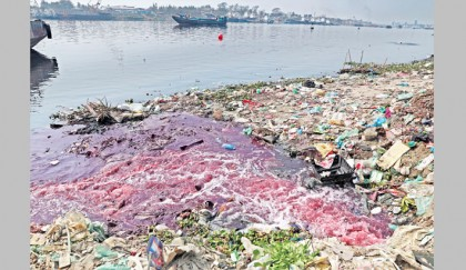 Shitalakkhya in peril for pollution