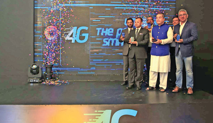 GP launches 4G service in Dhaka today