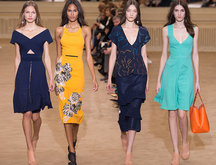 Roland Mouret presents Fashion Week ode to free, sensual women