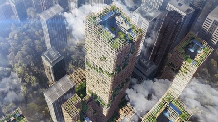 Japan plans world's tallest wooden skyscraper