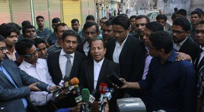 BNP lawyers receive Khaleda's verdict copy