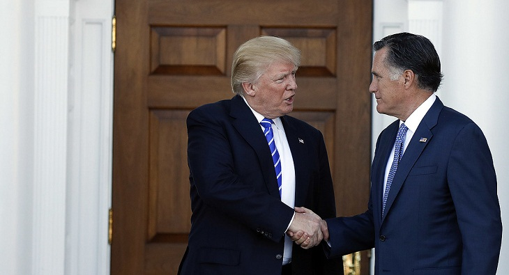 Trump and Romney friends again -- on Twitter