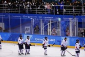 Joint Koreas hockey team ends historic Olympic run