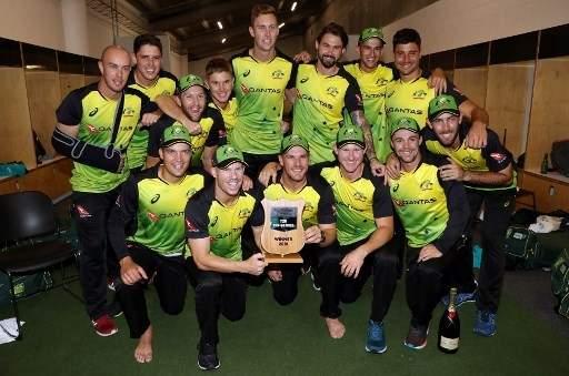 Australia beat New Zealand in rain-affected T20 tri-series final