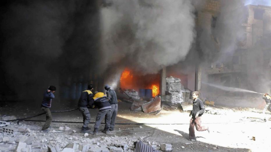 New strikes kill 10 in rebel-held suburbs of Syrian capital