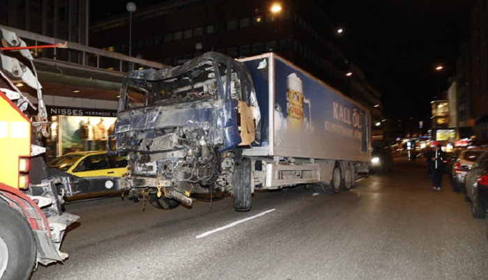 Sweden killer claims truck rampage for IS 'caliphate'