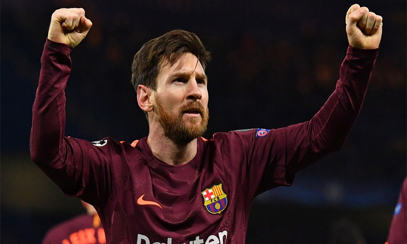 Lionel Messi breaks his duck against Chelsea to earn draw for Barcelona