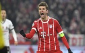 Mueller starts treble talk as Bayern rout Besiktas