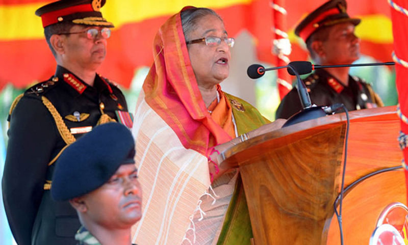 PM asks army to uphold democracy, constitution