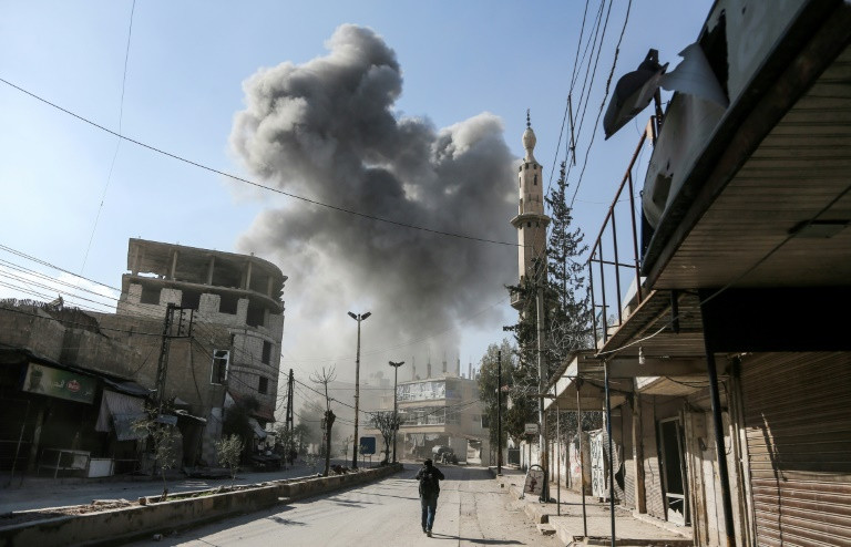 Fresh rocket fire on Syria enclave kills 13: Monitor