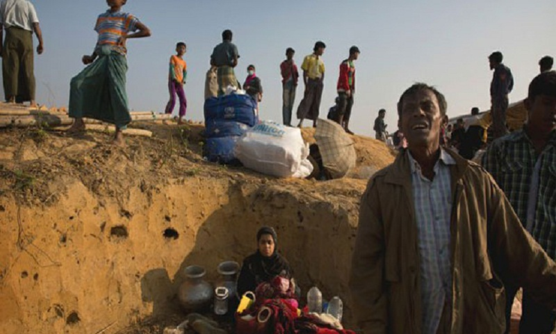 Rohingya Refugees in 'No-Man's Land' reject repatriation without safety guarantees