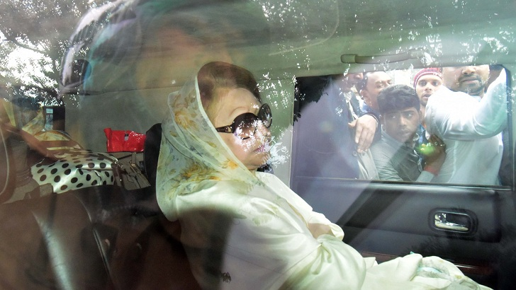 Khaleda's bail hearing Sunday