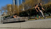 Record high temperatures for February in New York