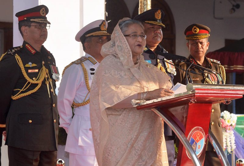 Prime Minister reaches Natore to join Army Engineering Corps reunion