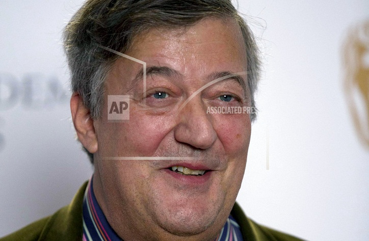 British comedian Stephen Fry reveals he has prostate cancer