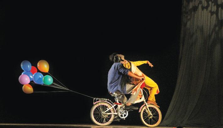 'Nikhoj Sangbad' Staged  To Mark Ekushey February