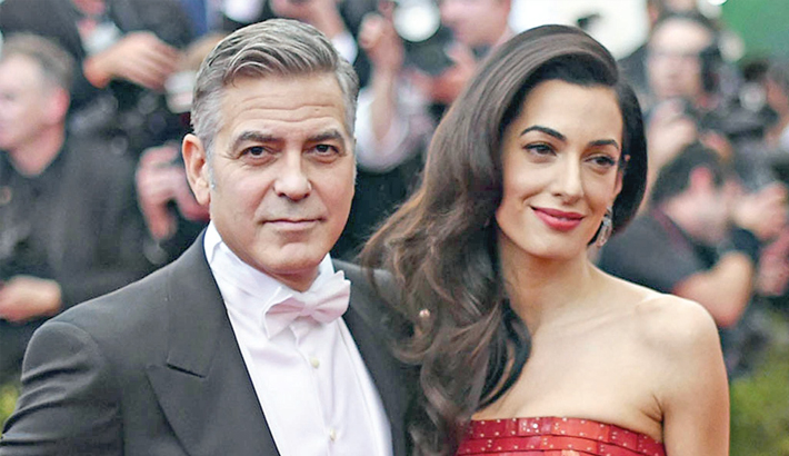George, Amal donate $500,000 to students organising  'March for our Life'