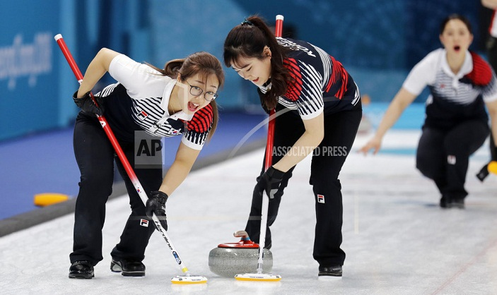 The 'Garlic Girls': South Korean curlers a global sensation