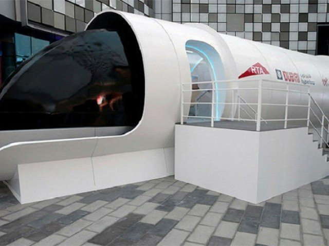 UAE unveils prototype of Hyperloop design