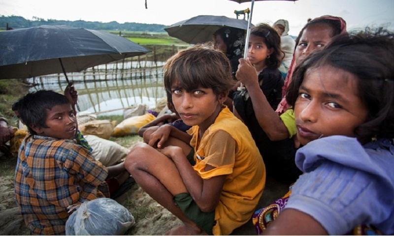 Cyclone, violence threats loom over Rohingya kids in Myanmar, BD