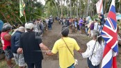 Protesters ousted from sacred site where Elvis filmed movie