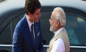 Modi hugs Trudeau, amid Indo-Canada invitation embarrassment