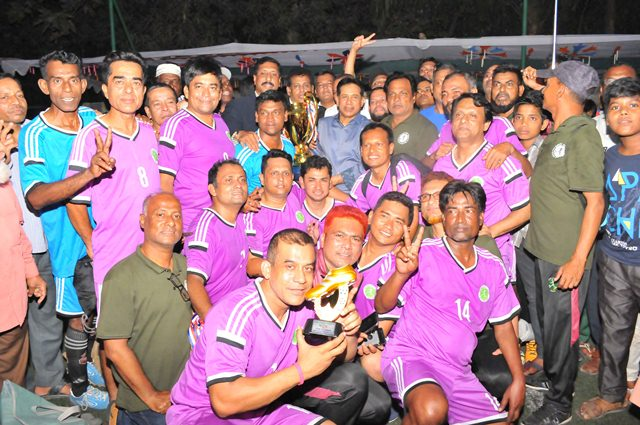 Chittagong clinch Veterans Cup Football title