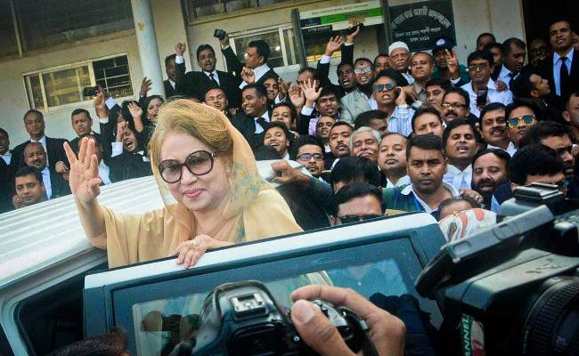 Hearing on Khaleda's bail pleas Sunday