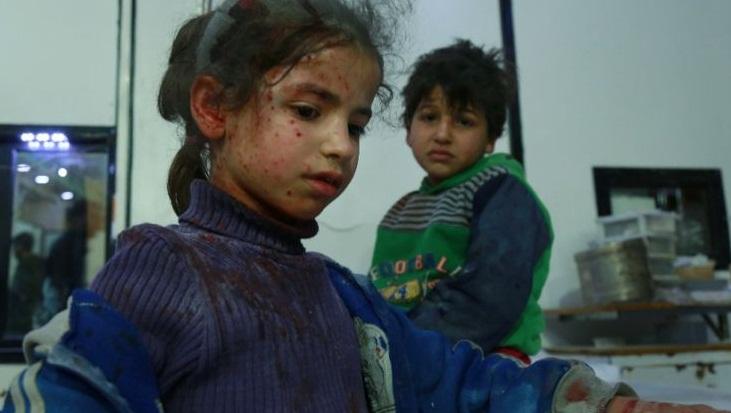 New strikes hit Syria enclave after UN delays truce vote