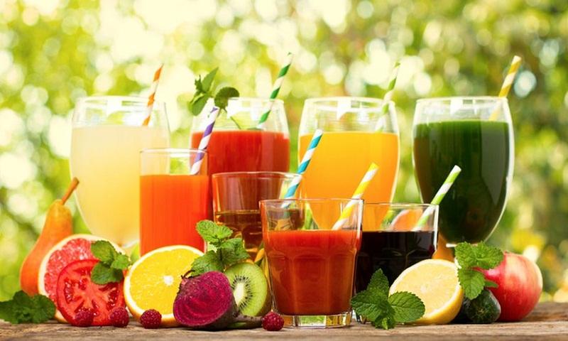 Choose sugar free fruit juice prudently