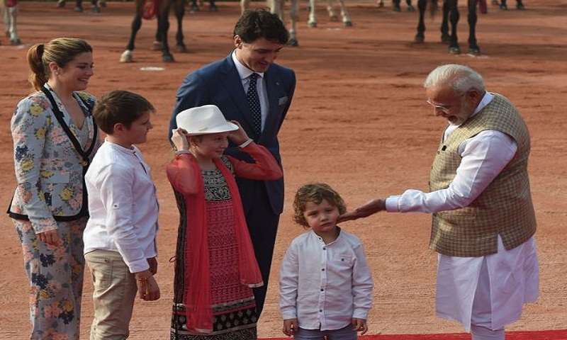 Trudeau in India: The Canadian PM meets Modi after diplomatic dance