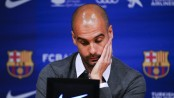 English FA charges Guardiola for political Catalonia ribbon