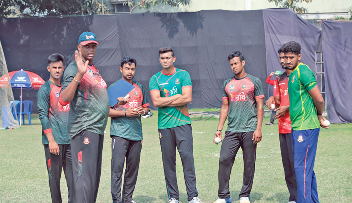Taskin hopes to return with 'Walsh Camp'