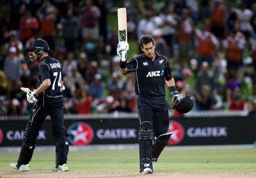Ross Taylor, Tom Latham guide New Zealand to three wickets win over England in first ODI