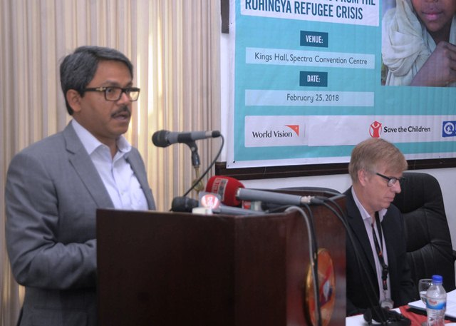 Bangladesh against forceful repatriation; wants continued pressure on Myanmar
