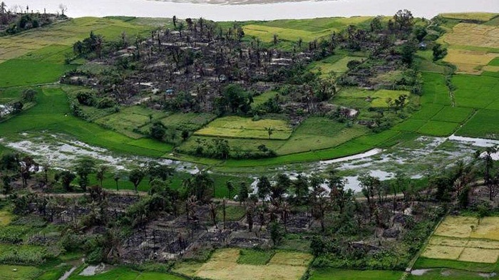 Myanmar bulldozed scores of Rohingya villages since November: HRW